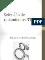 Selección de Rodamientos NTN