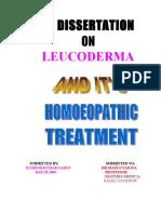 Dissertation Leucoderma