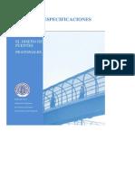 AASHTO Especificaciones Para Puentes Peatonales 1997
