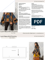 10169966 Loch Ness Knit Poncho in Premier Yarns Everyday Plaid Downloadable PDF 2
