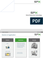 SPX Seital Separation Technology - Application