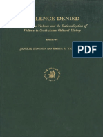 Violence Denied.violence, Non-Violence and the Rationalization of Violence in South Asian Cultural History.houben