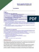 Requisitos ISO 9001-2015. 7.1.6 Conocimiento de La Organización