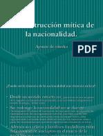 La Construcción Mítica de La Nacionalidad