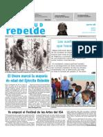JUVENTUD REBELDE. 28 DE MAYO DE 2019.