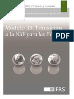 35 Transición a La NIIF Para Las PYMES 2013