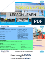 Rigging & Lifting - Lesson learn & Basic knowledge ITB.ppt