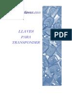 TRANSPONDER catalogo+2011+pt