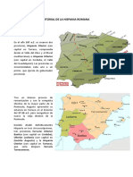 División Territorial de La Hispania Romana