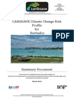 CARIBSAVE Climate Change Risk  Profile for Barbados -  Summary Document.pdf