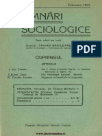 Insemnari Sociologice anul II, nr. 11, februarie 1937
