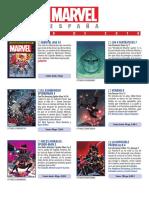 Catálogo JUNIO 2019 Marvel