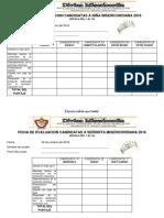 Fichas de Evaluacion Candidatas 2016