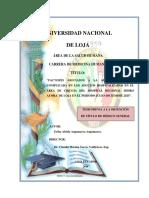 Factores Asociados a La Apendicitis Aguda Complicda en Hrial 2015