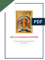 11 Evanghelii Inviere