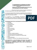 Convocatoria de Requisitos Adicionales Nivel Superior 2019- BUAP