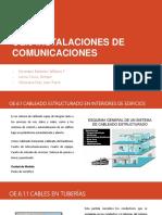Oe.6 Instalaciones de Comunicaciones
