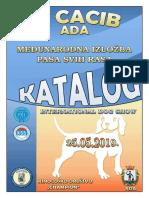 ADA CACIB 2019 - KATALOG