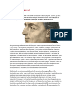 Leyendo a Diderot