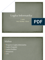 Logika Informatika 1