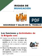 BRIGADA DE COMUNICACION