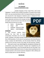 Book Review Spy Princess
