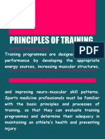 Principles of Training 1