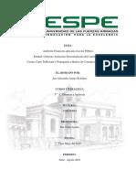 Auditoría Financiera Aplicada Al Sector Público GAD Cantón Pujilí