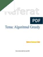 Algoritmi-GREEDY