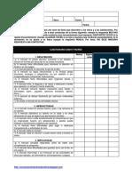 Cuestionario TDAH DSM-IV Padres