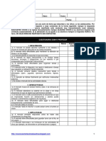 Cuestionario TDAH DSM-IV Profesor