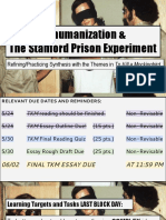dehumanization stanford prison exp