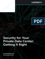Security for Your Private Data Center Getting It Right