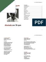 Letras Alvaiade 78 Rpm
