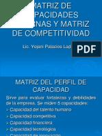 Matriz de Capacidades Internas y Matriz de Competitividad (1)
