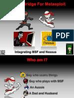 Nessus Bridge for Metasploit