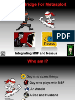 Nessus Bridge for Metasploit