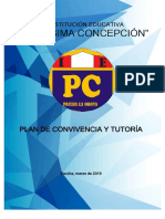 Plan de Convivencia y Tutoria 2019