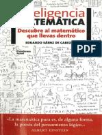 Inteligencia Matematica Eduardo Saenz
