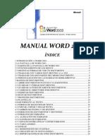 Manual Word 2003