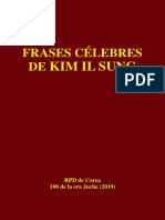 Frases célebres de Kim Il Sung