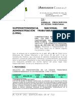 Prescripción Sunat -01- Arpeso Eirl