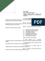 Lei 136-1992 Cria o Conselho Municipal de Assentamento Agrario