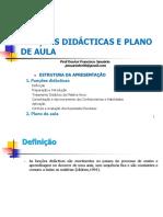 Funções Didácticas e Plano de Aula
