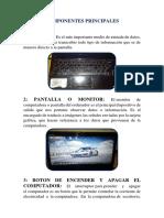 Componentes Principales Tarea de Sena