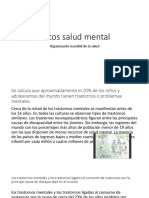 Datos Salud Mental