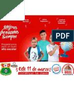 Afiche de Inicio Del Año Escolar 2019