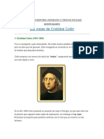 Guia Estudio Historia Cristobal Colon
