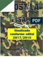 APOSTILA ESA 2018