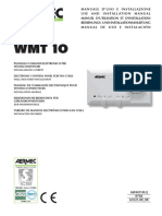 Aermec Wmt 10 Installation Manual Eng